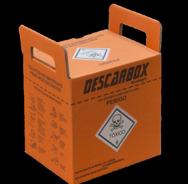 Coletor Descarbox Laranja